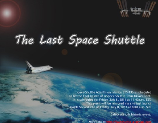 last space shuttle madmikesamerica, russia to own space