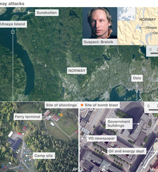 Anders Behring Breivik, oslo norway attacked