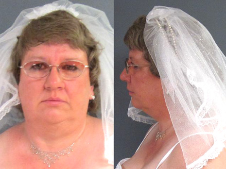 blushing bride busted at wedding