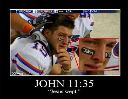 tim tebow and god madmikesamerica