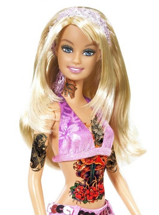 Tattooed Barbie 1