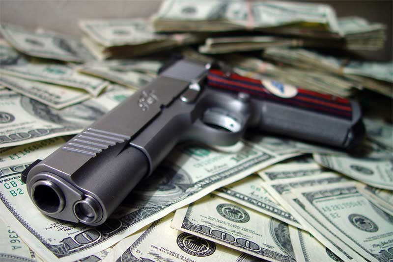 If You Want To Control Guns Control The Money