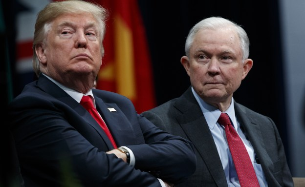 White house staff hiding Sessions