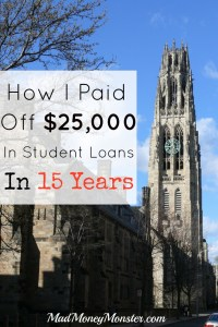 Yale Tower - Student Loans