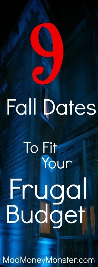 fall dates - haunted house