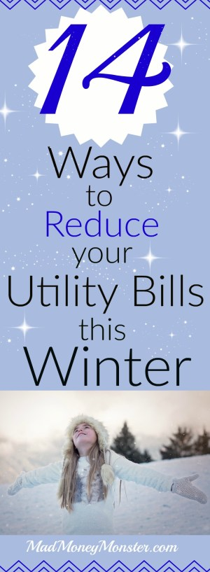 Utility Bills | Heating Bills | Reducing Heating Bills | Save Money On Heating | Save Money On Utilities | Monthly Expenses | Monthly Utility Bills via @MadMoneyMonster