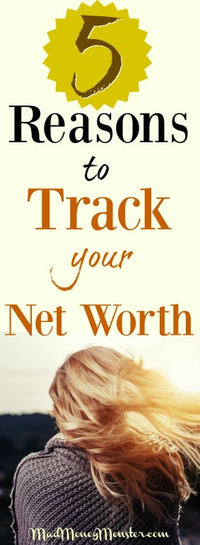 Net Worth | Track Your Net Worth | How To Track Net Worth | Financial Freedom | Financial Independence | Debt Freedom | FIRE | FIOR via @MadMoneyMonster