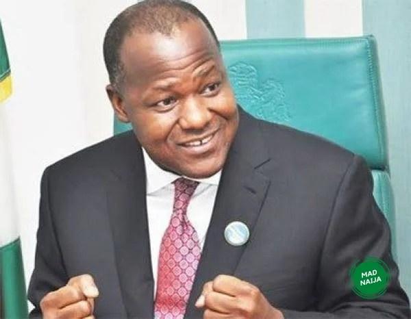 BREAKING: Dogara dumps PDP, meets Buhari in Aso Rock