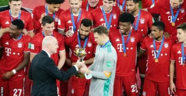 Bayern wins sixth trophy