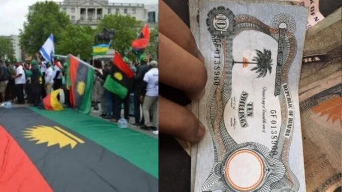 Old Biafran Currency