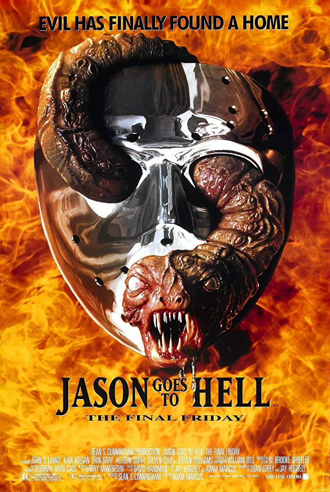 Movie poster for Jason Goes to Hell