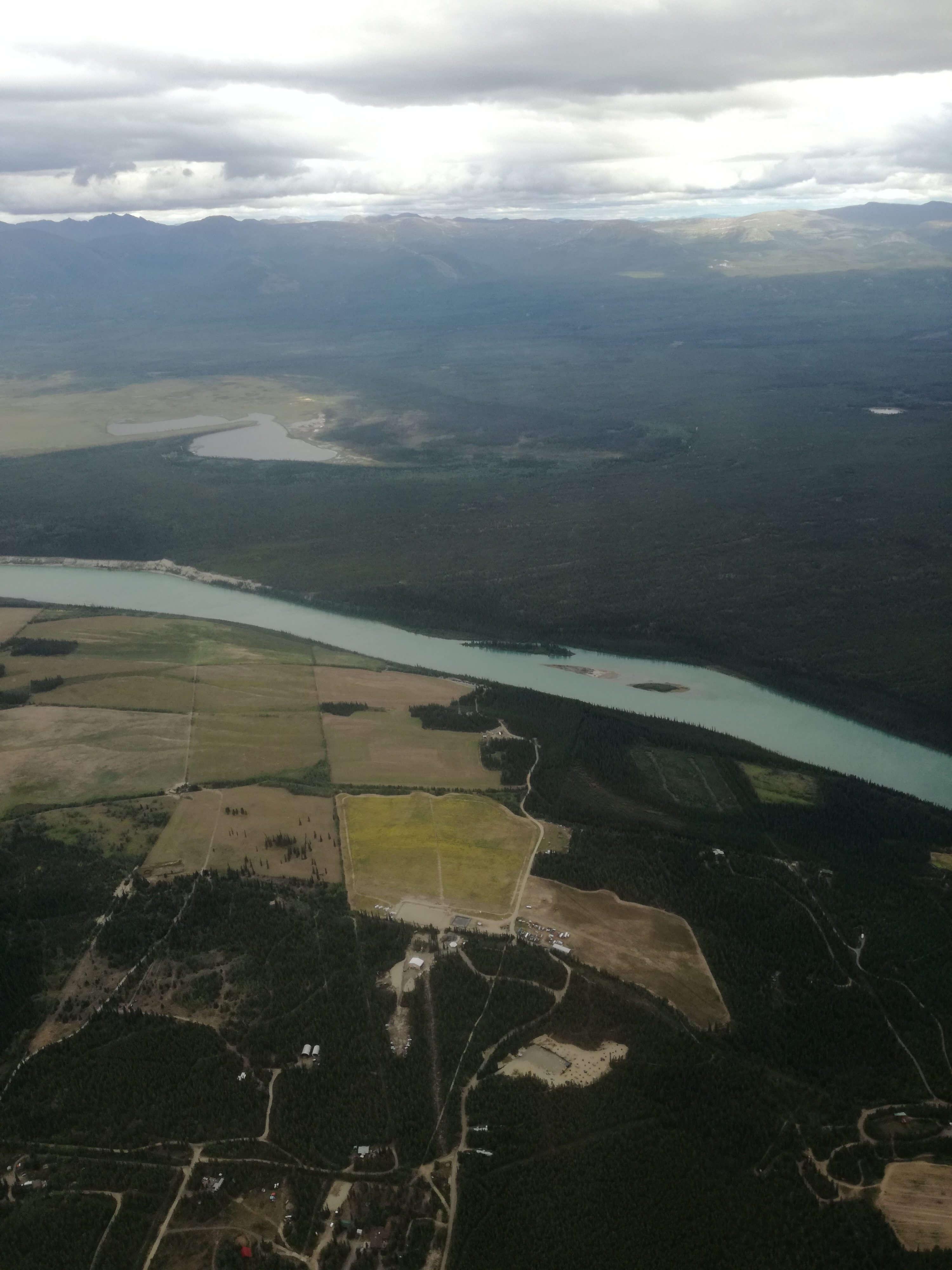 Alaska - Yukon Territory - Glacier Bay: Tag 01: Abreise/Flug nach Whitehorse   MaDo-unterwegs