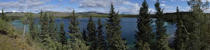 """""""Twin Lakes"""" (Yukon Territory, Kanada)"""