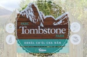 "Logo ""Tombstone Park"""
