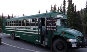 """""""Wonder Lake Shuttle"""" im Denali National Park (Alaska, USA)"""
