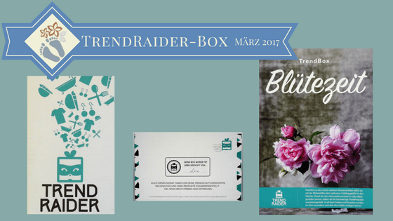 Blogtitel: TrendRaider-Box März 2017