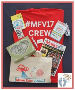 "Goodies von der ""Maker Faire Vienna"""