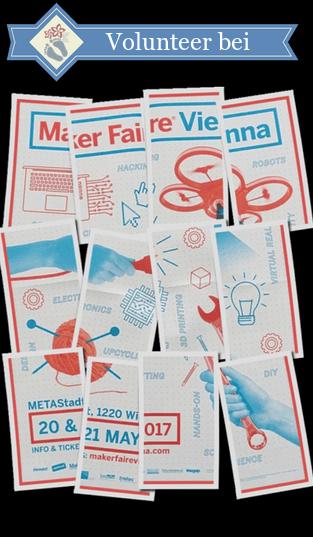 """Plakat der """"Maker Faire Vienna"""""""