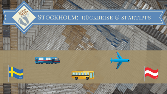 Rückreise von Schweden nach Österreich
