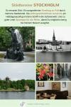 Collage: Impressionen von der Städtereise Stockholm