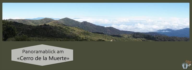 Panoramablick am «Cerro de la Muerte» {Reisetagebuch Costa Rica: Tag 14}
