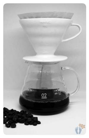 Blogparade: Welche Aspekte des Minimalismus lebst Du?: Meine Kaffeezubereitung mit Handfilter