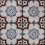 bunt bemalte Keramikfliese: «Azulejo» {Reisetagebuch Lissabon: Tag 04}