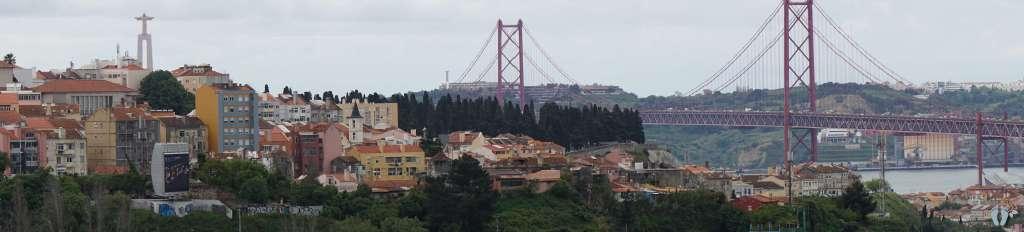 Lissabon abseits der üblichen touristischen Ausblicke vom «Aqueduto das Águas Livres» {Reisetagebuch Lissabon: Tag 04}