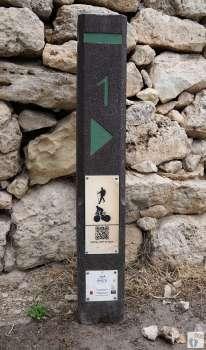 Reisetagebuch Malta: Tag 02: Beginn der Wanderung von «Buskett Gardens» bis nach «Siggiewi»