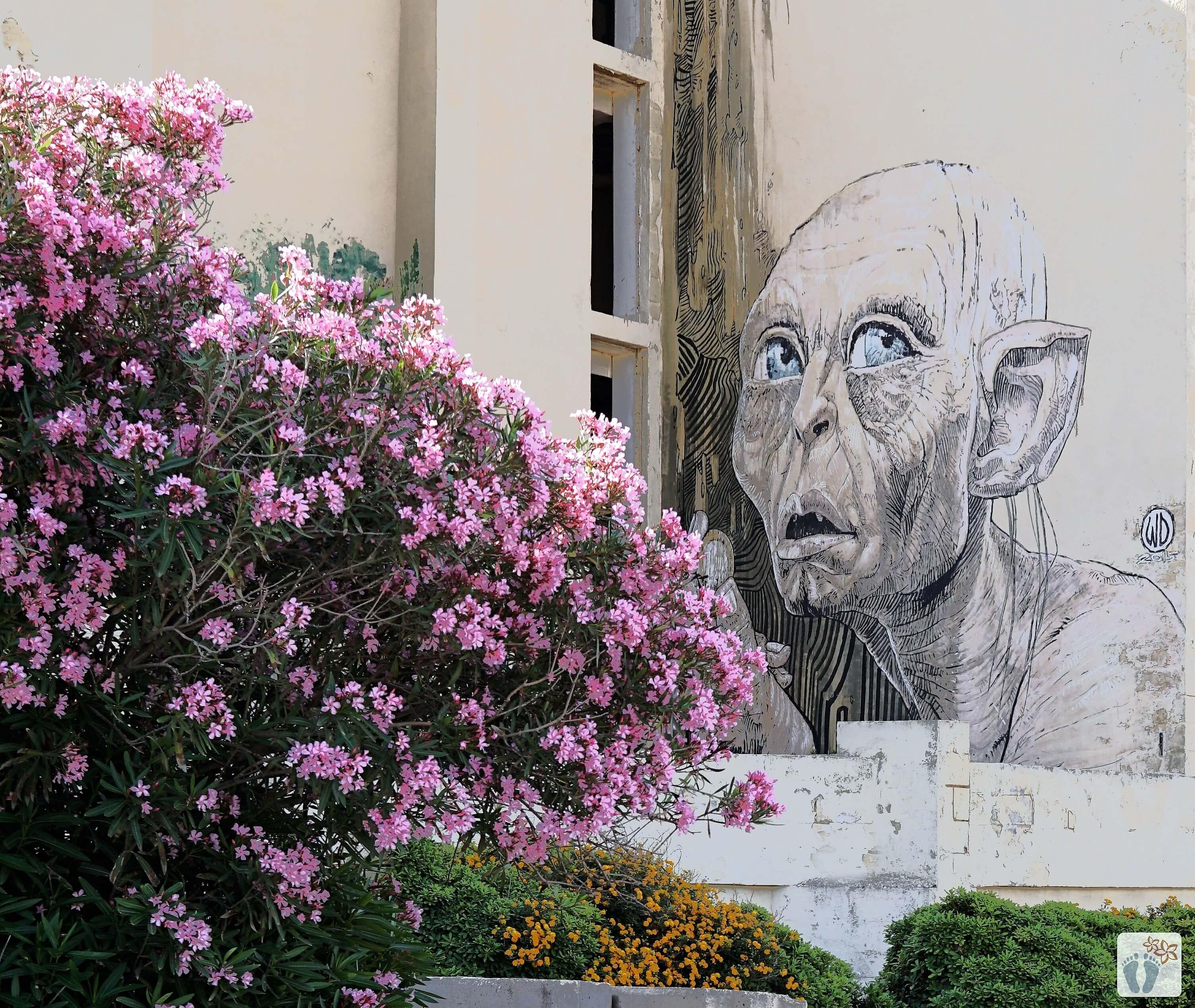 Street-Art in «Marsaskala» {Reisetagebuch Malta: Tag 03}