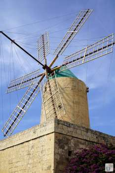 «Ta'Kola»-Windmühle in «Xagħra» {Reisetagebuch Malta: Tag 04}