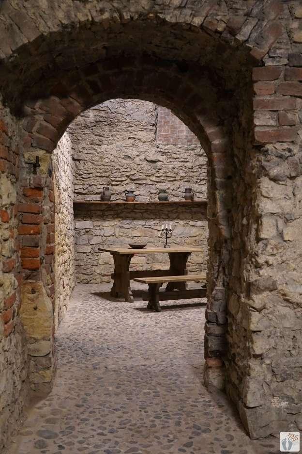 im romanischen-gotischen Untergrund des «Altstädter Rathaus» {Reisetagebuch Prag}