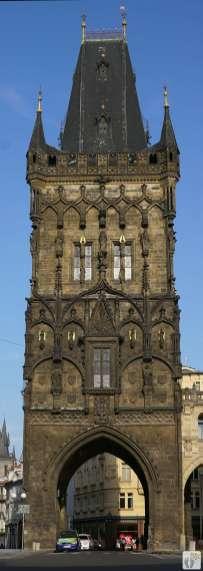 «Pulverturm» - «Prašná brána» {Reisetagebuch Prag}