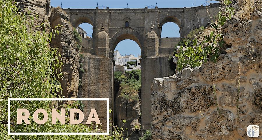 Besuch von «Ronda»: «Puente Nuevo» - neue Brücke und Wanderung in der Schlucht «El Tajo» {Andalusien Reisetagebuch}