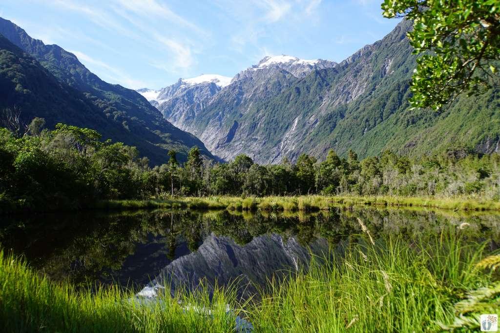 «Peters Pool» {Reisetagebuch «Roadtrip durch Neuseeland mit dem Bus»: «Franz Josef Gletscher»}