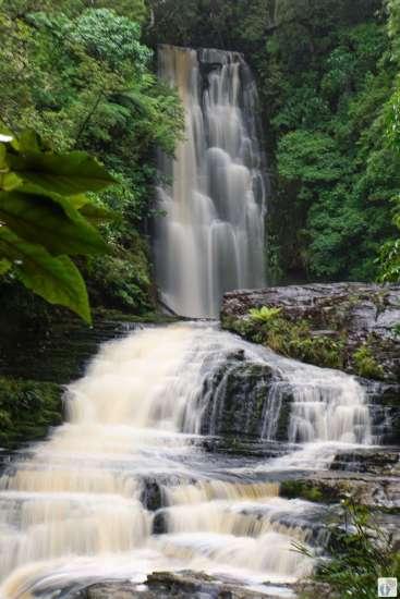 «McLean Falls» {Reisetagebuch «Roadtrip durch Neuseeland mit dem Bus»: «Catlins Coast»}