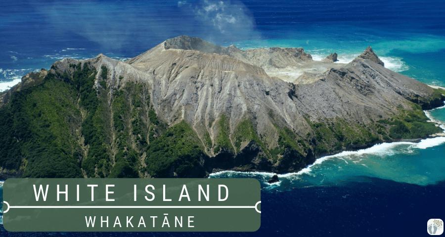 aktiver Vulkan White Island {Reisetagebuch «Roadtrip durch Neuseeland mit dem Bus»: Whakatāne}