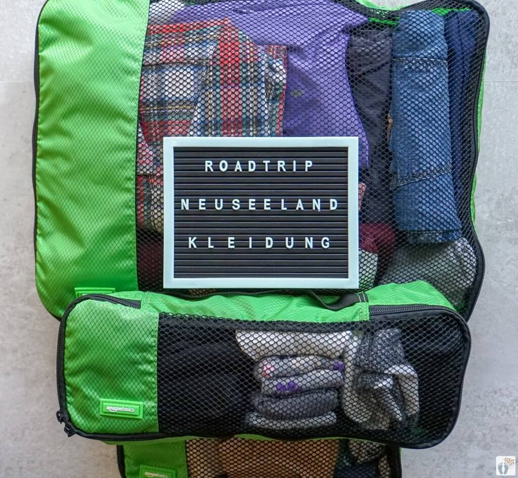 """Packliste """"Kleidung"""" {46 Tage Roadtrip durch Neuseeland mit dem Bus}"""