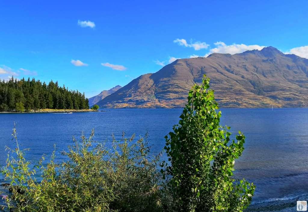 Blick auf den «Lake Wakatipu»: Queenstown {Reisetagebuch «Roadtrip durch Neuseeland mit dem Bus»}