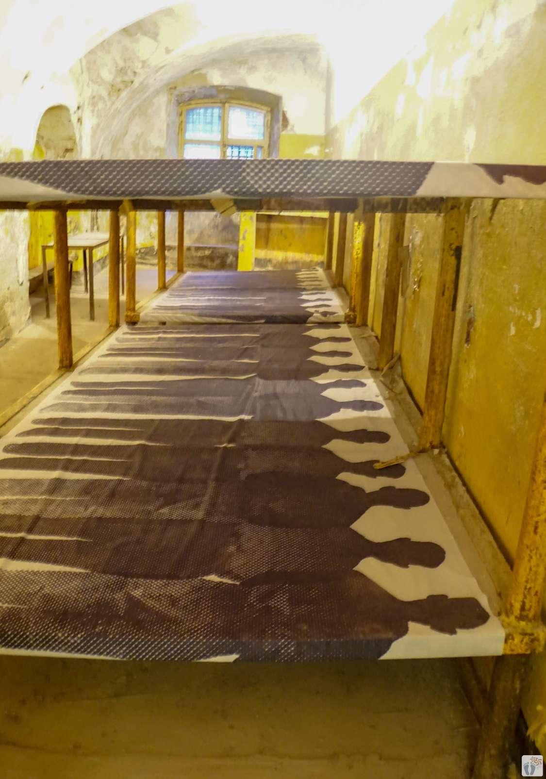 Ausstellung #Kommunismus ist Gefängnis# im Gefängnis Patarei_Tallinn - Estland