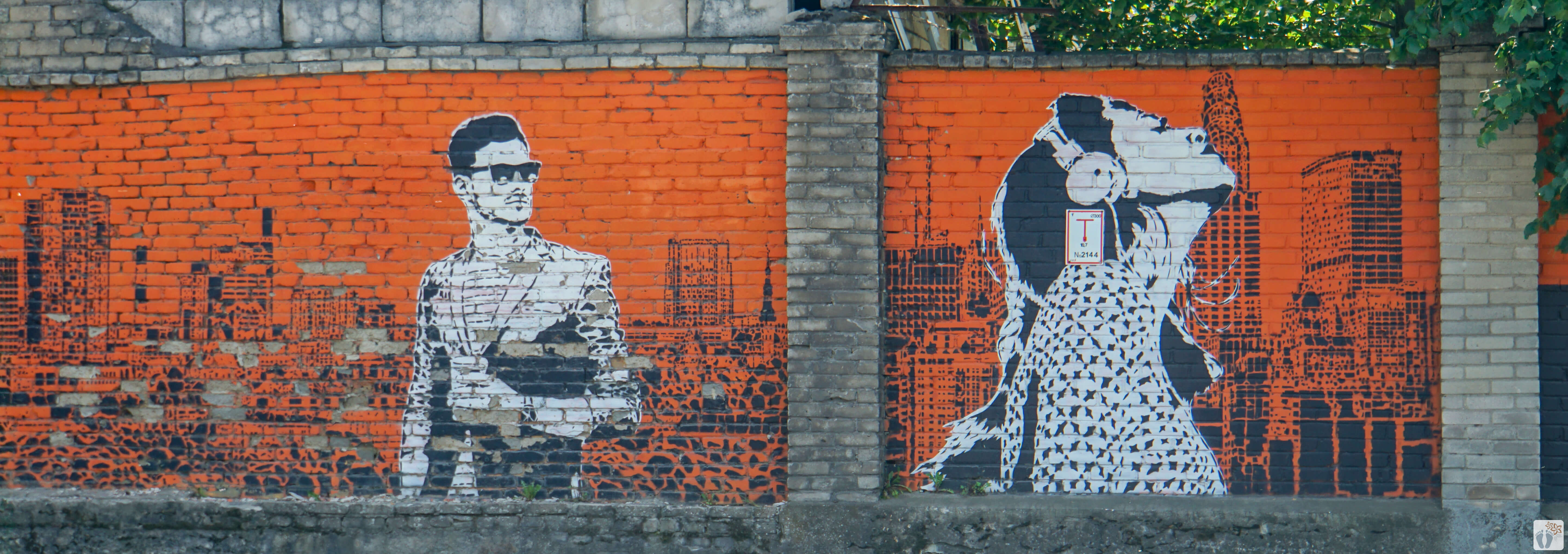 Street-Art #Personen#_Tallinn - Estland