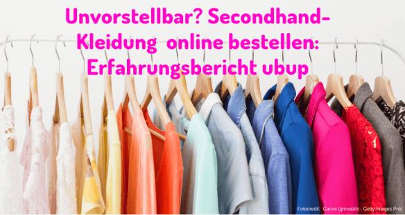 Unvorstellbar? Secondhand Kleidung online bestellen