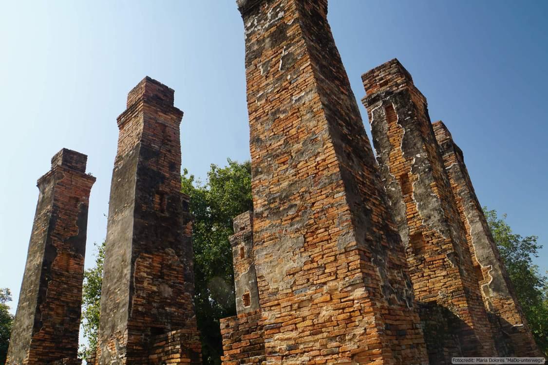 Ho Thewalai Mahakaset im Sukhothai Historical Park (Reisetagebuch «Thailand als Alleinreisende ohne Roller entdecken»)