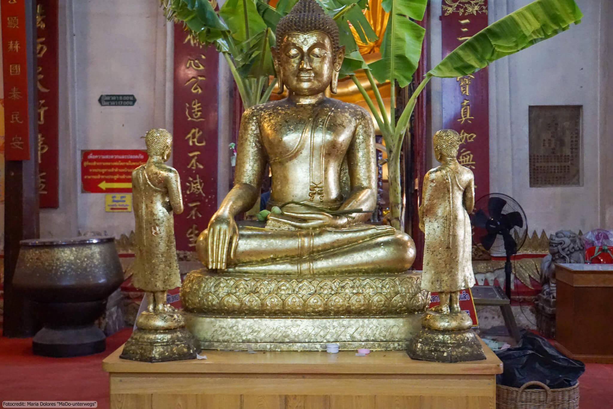 Wat Phanan Choeng in Ayutthaya (Reisetagebuch «Thailand als Alleinreisende ohne Roller entdecken»)