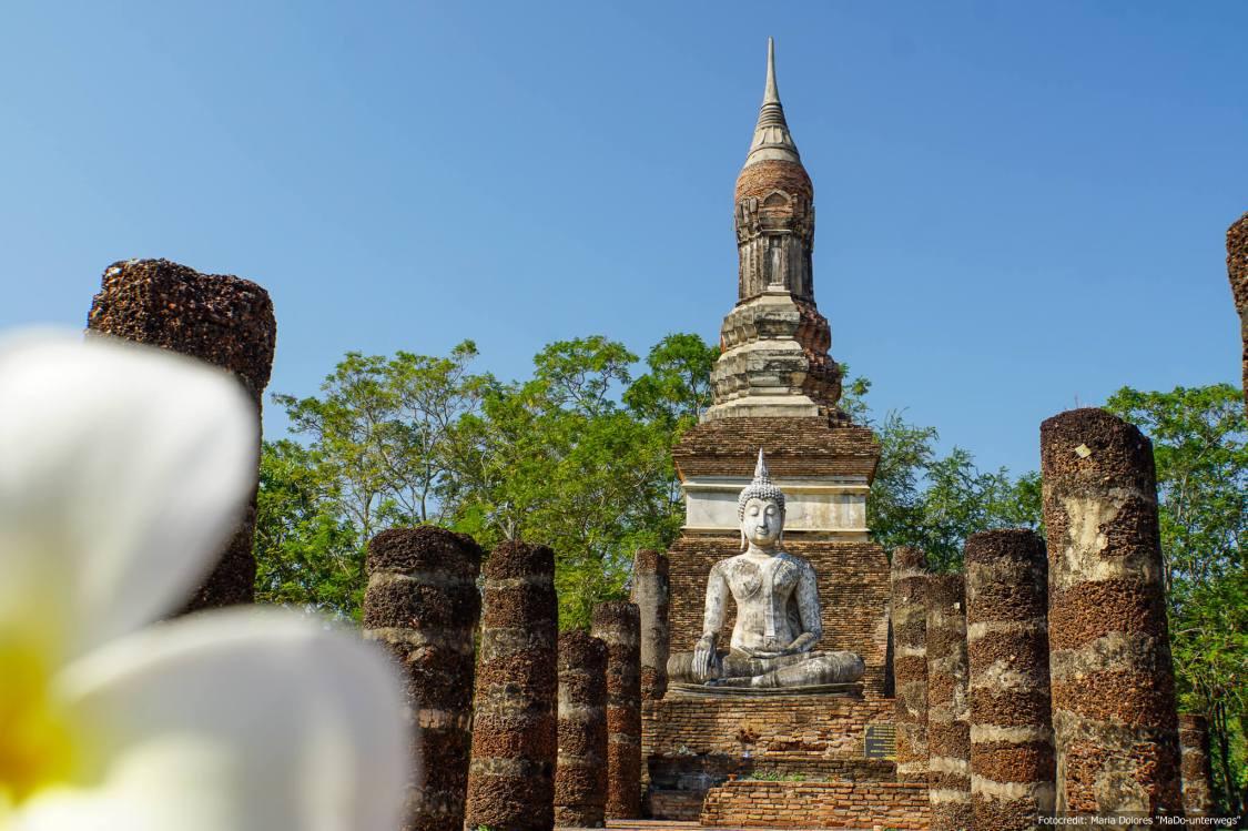 Wat Tra Phang Ngoen im Sukhothai Historical Park (Reisetagebuch «Thailand als Alleinreisende ohne Roller entdecken»)