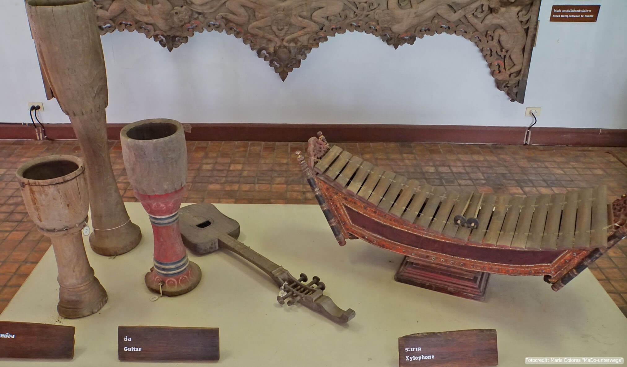 Mae Fah Luang Art & Culture Park in Chiang Rai - Exponat in der Ausstellung Haw Kaew (Reisetagebuch «Thailand als Alleinreisende ohne Roller entdecken»)