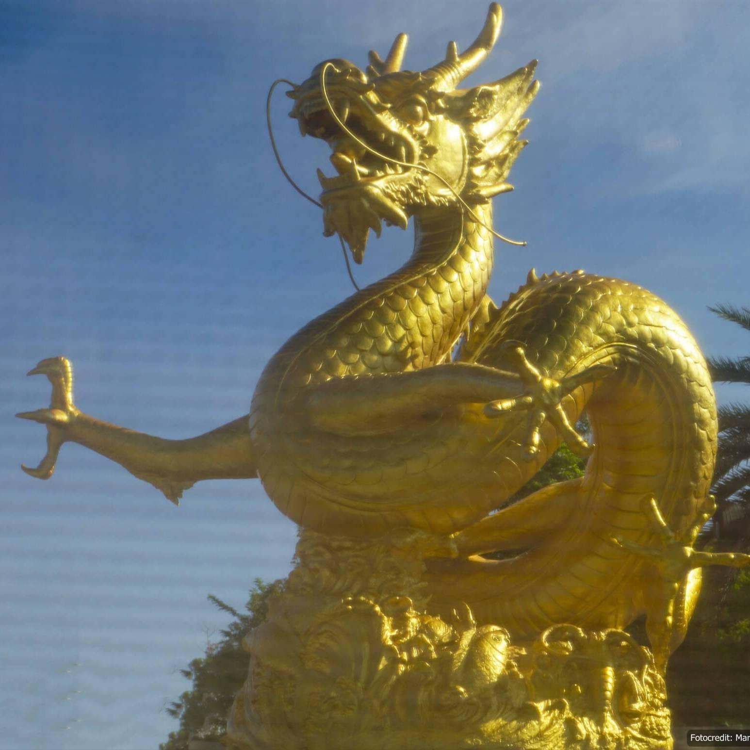 Hai Leng Ong (goldener Drache) in Phuket Town (Reisetagebuch «Thailand als Alleinreisende ohne Roller entdecken»)