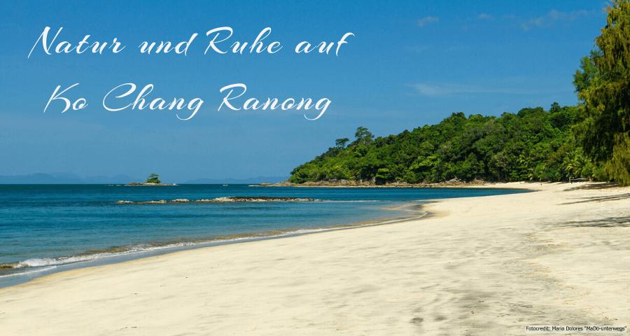 "Bucht ""Ao Yai"" (Long Beach) auf Ko Chang Ranong (Reisetagebuch «Thailand als Alleinreisende ohne Roller entdecken»)"