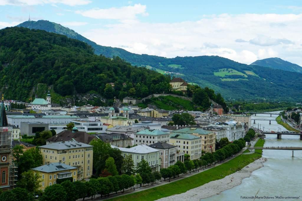 Kapuzinerkloster auf dem Kapuzinerberg: vom Mönchsberg [10 Tage Roadtrip Salzburg[