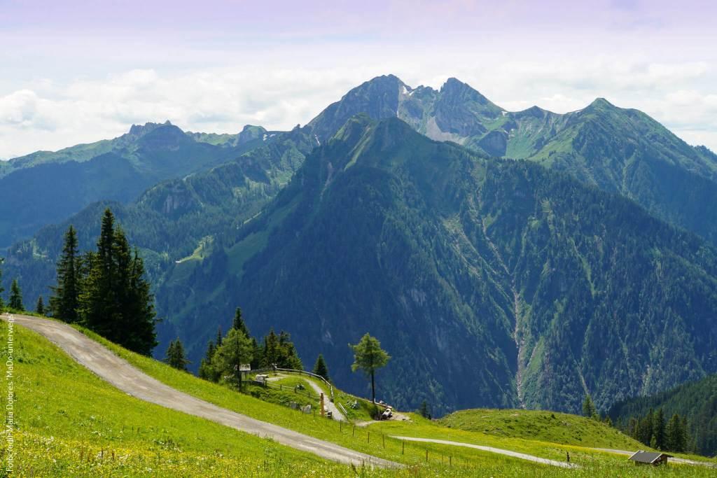 St. Johann im Pongau: Gernkogel Wanderung - Ausblick auf die Bergwelt [10 Tage Roadtrip Salzburg]